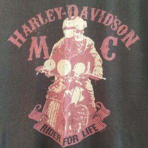 Harley Davidson Topeka Graphic Short Sleeve-XL